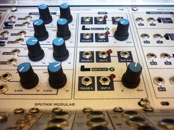Sputnik Quad Function Quad VCF VCA Demo 4