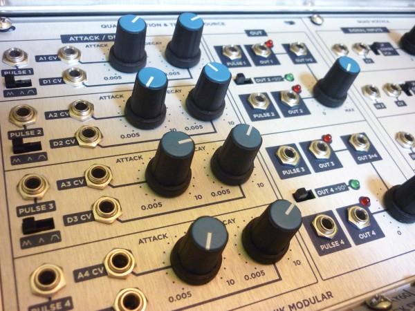 Sputnik Quad Function Quad VCF VCA Demo 1