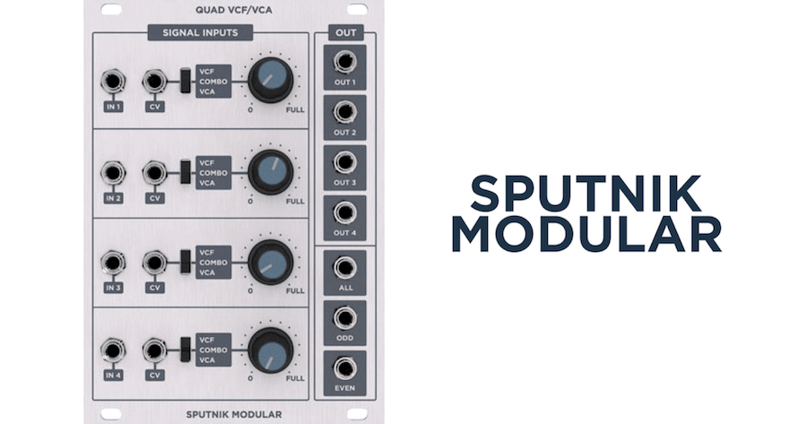 Sputnik Quad VCFVCA Audio Demos-min