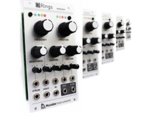 Let's Get Physical! Mutable Instruments Rings Has Arrived!
