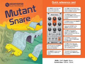 Hex Inverter Restock – including Mutant Snare