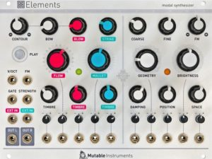 Mutable Instruments Elements Back in Stock