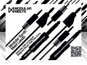Leeds Modular Meet 20.08.16 – Pop-up Shop, plus win an ALM Beast's Chalkboard & Cables!