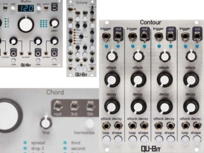 Qu-Bit CONTOUR in stock, plus OCTONE, RHYTHM & CHORD restocks