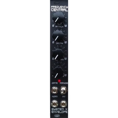 Frequency Central System X Envelope Black