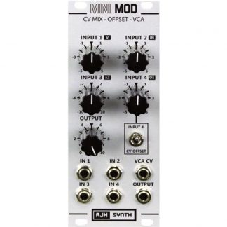 AJH Synth Minimod CV Mix-Offset-VCA Silver