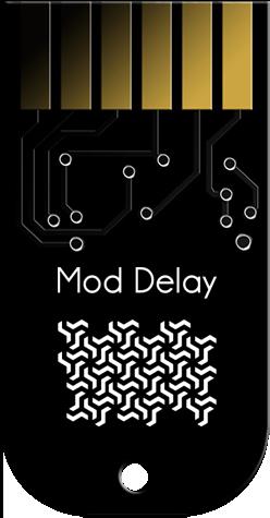 Tiptop Audio ZDSP Card - Mod Delay