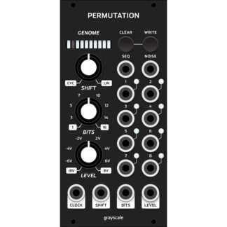 Grayscale Permutation 12hp Matte Black