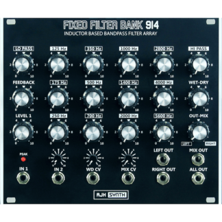 AJH Synth Fixed Filter Bank 914 Dark