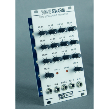 AJH Synth Wave Swarm Silver side
