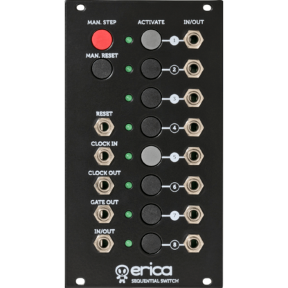 Erica Synths 8-channel sequential switch v1