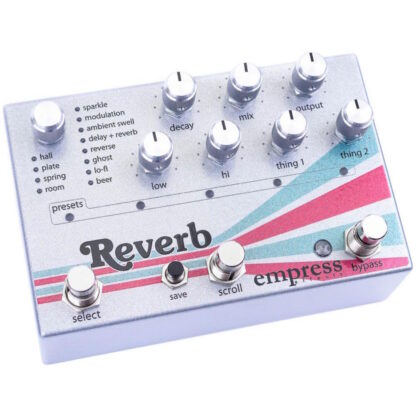 Empress Effects Reverb side