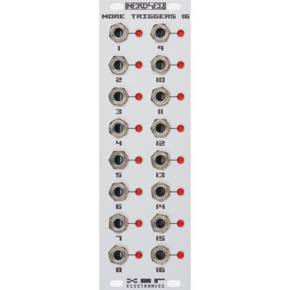 XOR Electronics More Triggers 16 (Grey)