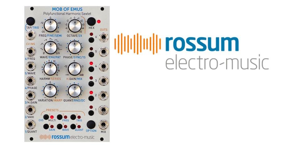 Rossum Electro-Music Matttech Modular 16.11.20
