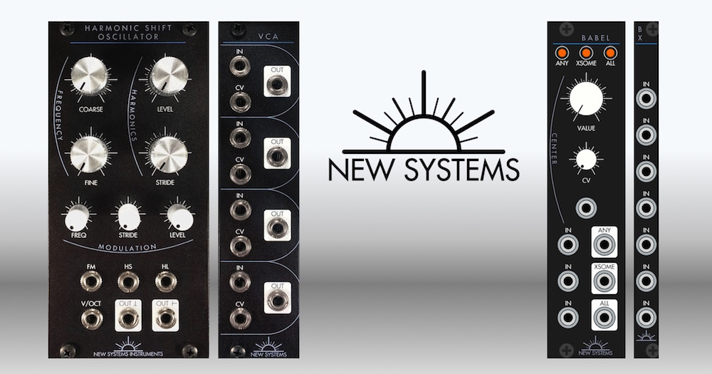 New Systems Instruments Matttech Modular 12.04.21