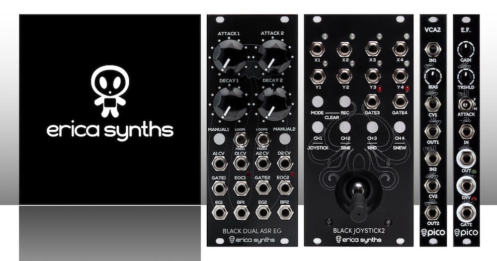 Erica Synths Matttech Modular 17.05.21