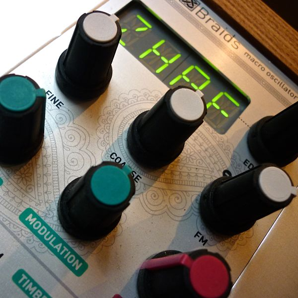 Mutable Instruments Braids Demo 2