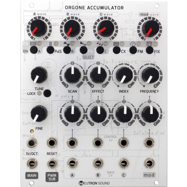 Neutron Sound Orgone Accumulator