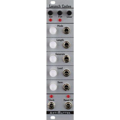 Antimatter Audio Launch Codes