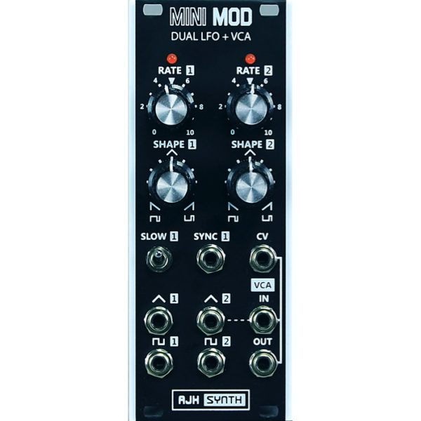 AJH Synth Minimod Dual LFO & VCA Dark Edition