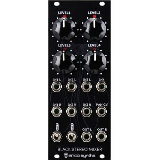 Erica Synths Black Stereo Mixer v.2