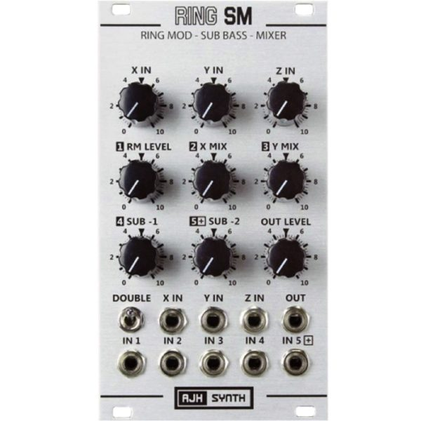 AJH Synth Ring SM SIlver