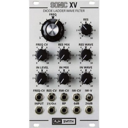 AJH Synth Sonic XV SIlver