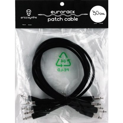 Erica Synths Eurorack Patch Cables BLACK