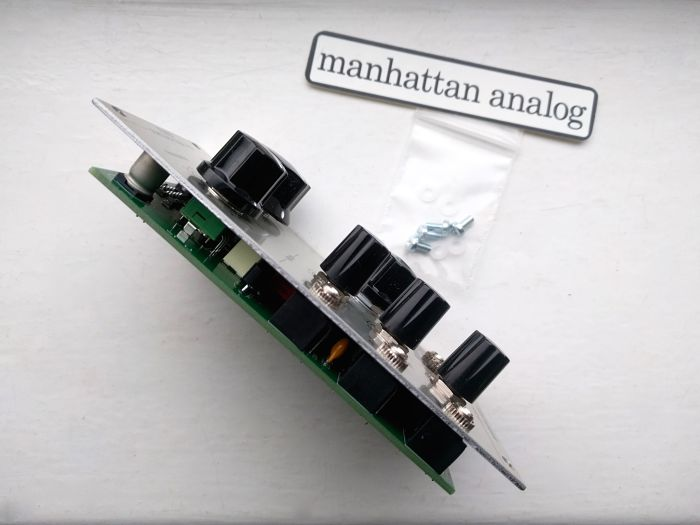Manhattan Analog Steiner Synthasystem VCF 3