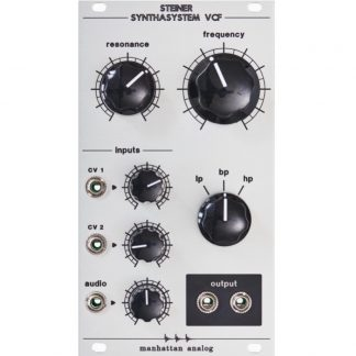 Manhattan Analog Steiner Synthasystem VCF 2