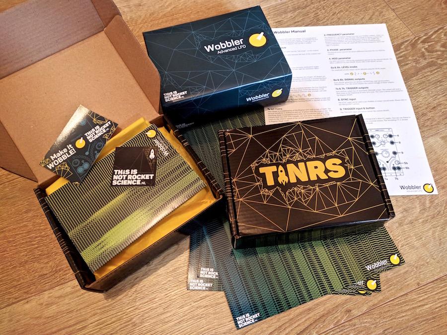 TiNRS Wobbler Packaging