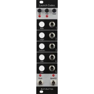 Antimatter Audio Launch Codes (Black)