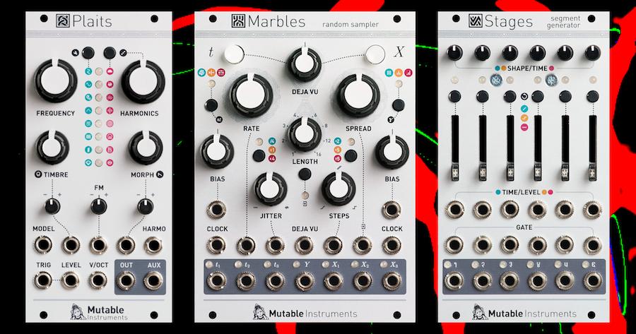 Mutable Instruments Matttech Modular 08.08.18